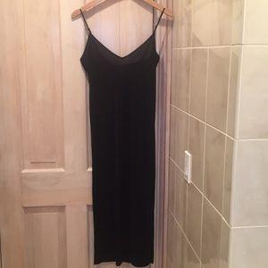 Zara midi black dress